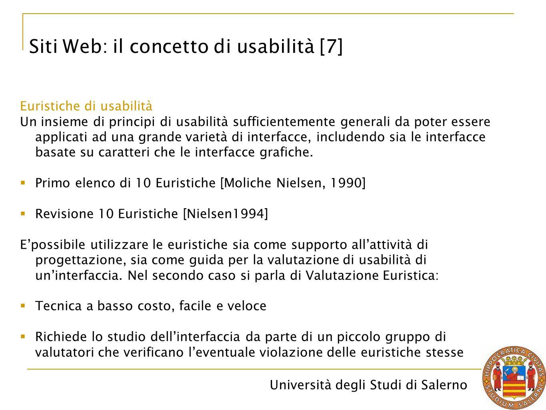 Siti Web: il concetto di usabilità [7]
